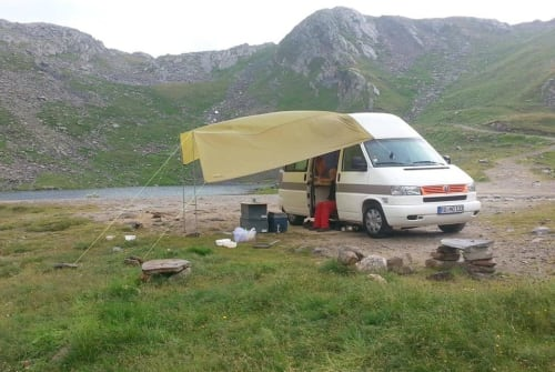 Hire a motorhome in Aschau im Chiemgau from private owners  Volkswagen GLÜCKSMOBIL