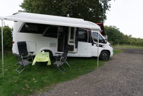 "Hire a motorhome in Remmels from private owners| Hobby ""Uns Hobby"""