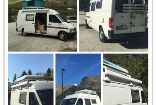 Hire a motorhome in Tübingen from private owners| Volkswagen Camper VW Camper LT35 (große Variante)