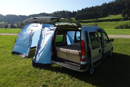 Hire a motorhome in Sonthofen from private owners| Renault allgäuKangoocamper