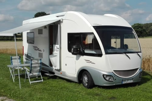 Hire a motorhome in Ahlen from private owners| Fiat Ducato  Spacemobil