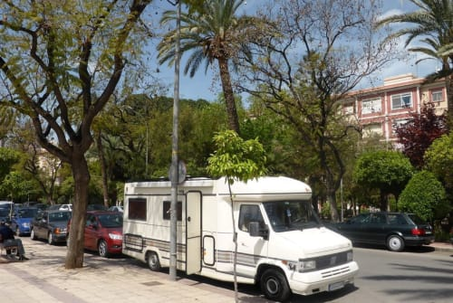 Hire a motorhome in Überherrn from private owners| Fiat Tortuga