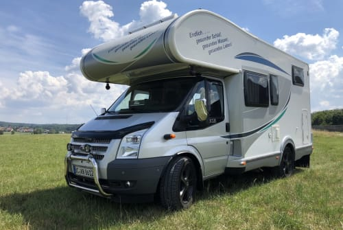 Hire a motorhome in Stimpfach from private owners| Ford Transit  KKGB WOMO