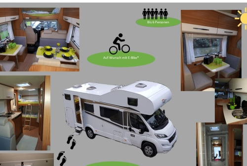 Hire a motorhome in Wendlingen am Neckar from private owners| Fiat Carado  Paulinchen