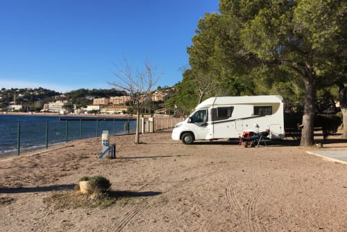 Hire a motorhome in Schopfheim from private owners| Carado Fiat Relax
