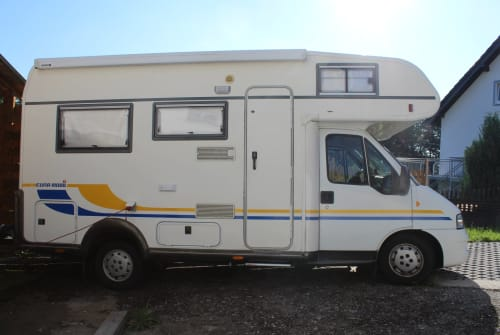 Hire a motorhome in Eitorf from private owners  Fiat Moony