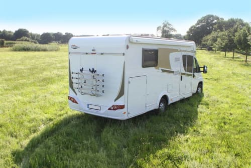 Hire a motorhome in Lissendorf from private owners  Carado Heidi