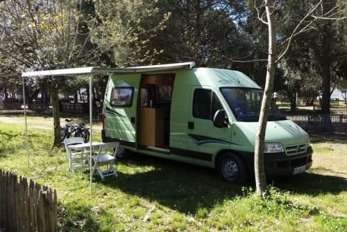 Hire a motorhome in Freiburg im Breisgau from private owners  Citroen Kastenwagen (Pössl-Ausbau) Lindi