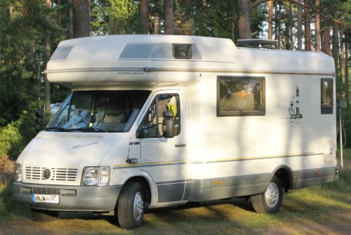 Hire a motorhome in Ratekau from private owners  VW Karmann Missouri