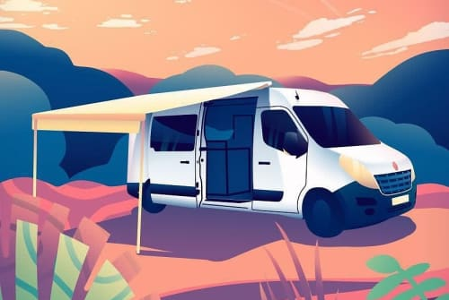 Hire a motorhome in Harderwijk from private owners| Renault Master dutch traveller