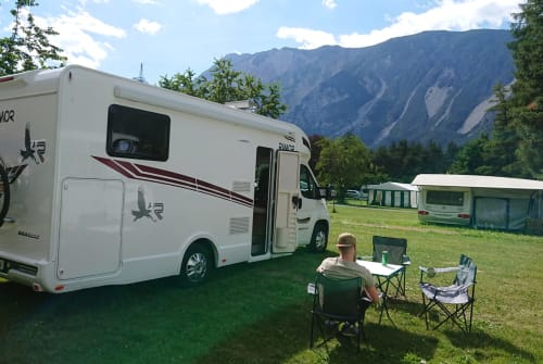 Hire a motorhome in Breydin from private owners| Rimor Seal 69 Autom.