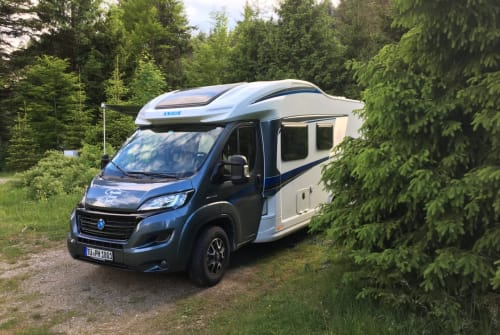 Hire a motorhome in Tübingen from private owners| Knaus AishaCO2neutral