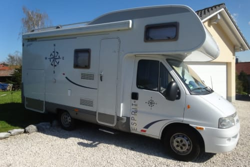 Hire a motorhome in Altusried from private owners| Fiat/ Dethleffs Detlef