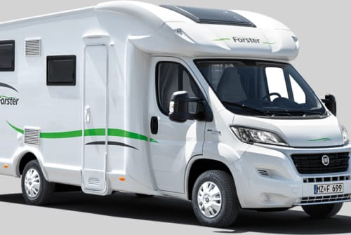 Hire a motorhome in Oberschneiding from private owners| Forster 738 EB Franzl