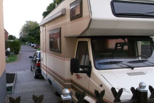 Hire a motorhome in Bördeland from private owners  Fiat Dukato Jörg & Karina - Womo