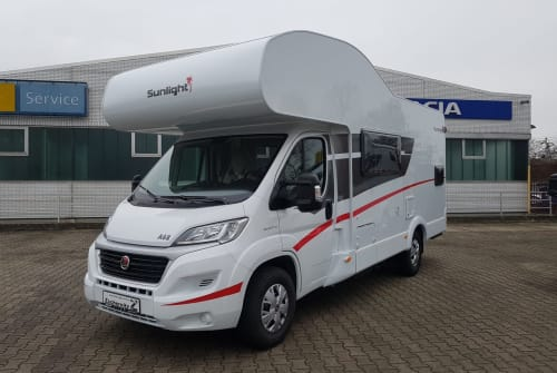 Hire a motorhome in Mannheim from private owners  Sunlight Freedom on Tour