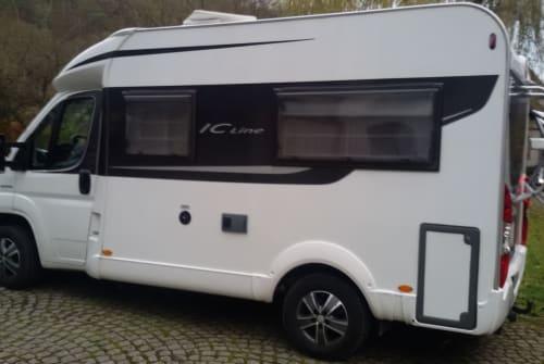 Hire a motorhome in Villingen-Schwenningen from private owners  Bürstner Gonzowmobil