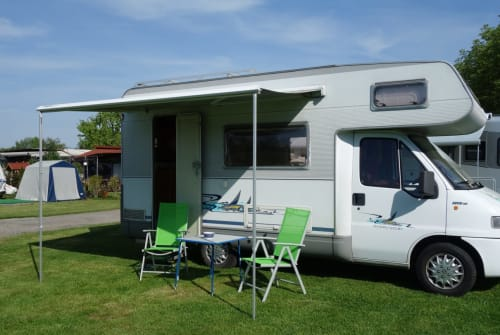 Hire a motorhome in Eichenau from private owners| Fiat  Homer