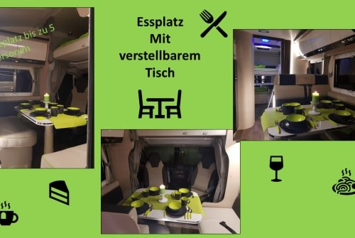 Hire a motorhome in Ohmden from private owners| Forster Euphemia-die Glück Verheißende