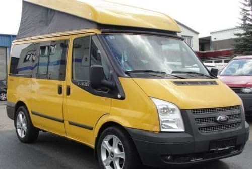 Hire a motorhome in Steinheim an der Murr from private owners| Ford Transit Westfalia Golden Nugget