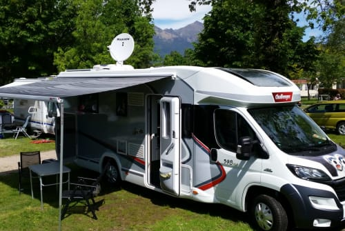 Hire a motorhome in Breisach am Rhein from private owners  Challenger Balou