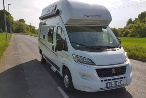 Hire a motorhome in Wiesbaden from private owners| Weinsberg CaraBus