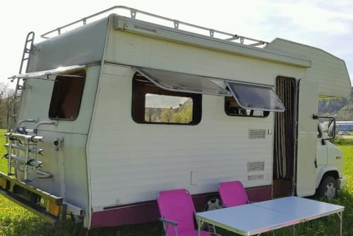 Hire a motorhome in Leutershausen from private owners| Fiat Oldtimer Ernst