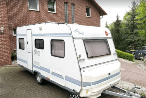 Hire a motorhome in Dresden from private owners  Bürstner  Rainbow