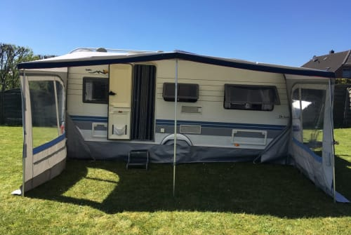 Hire a motorhome in Jerrishoe from private owners| Hobby Bruno