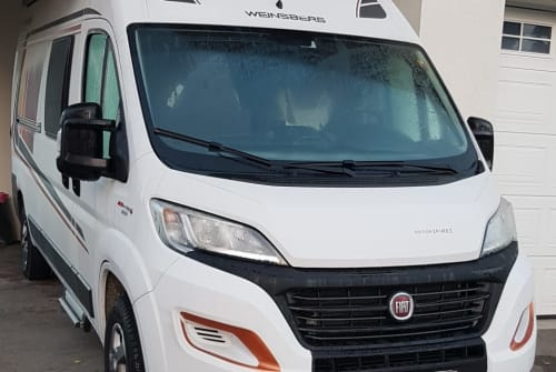 Hire a motorhome in Horgenzell from private owners| Fiat  Möwe