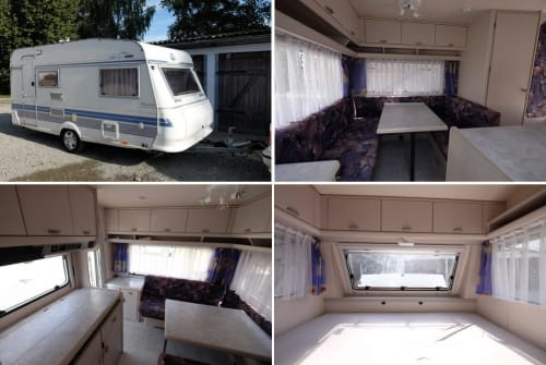 Hire a motorhome in Weißenhorn from private owners  Hobby 430 SF Hobby 430 hell