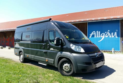 Hire a motorhome in Sonthofen from private owners| Citroen Jumper  PösslWohnmobil