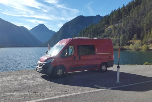 "Hire a motorhome in Vohenstrauß from private owners| Fiat Ducato ""Hope"""