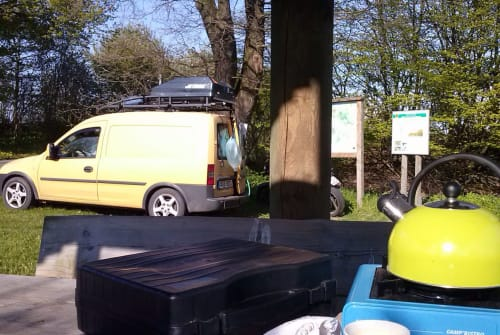 Hire a motorhome in Leißling from private owners| Opel Hundefänger und Freizeitmobil