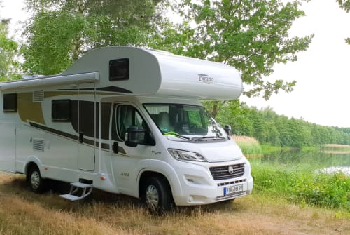 Hire a motorhome in Heidenau from private owners| Carado Aloha - Ferien im Paradies!