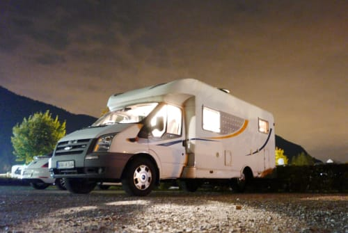 Hire a motorhome in Hörselberg-Hainich from private owners  Ford Camper Nr.1