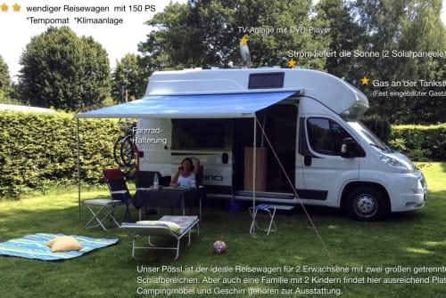 Hire a motorhome in Nienhagen from private owners| Citroen Winwin