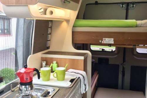 Hire a motorhome in Stuhr from private owners| Fiat Ducato Van-y