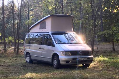 Hire a motorhome in Berlin from private owners| Mercedes Benz Vito El Vito