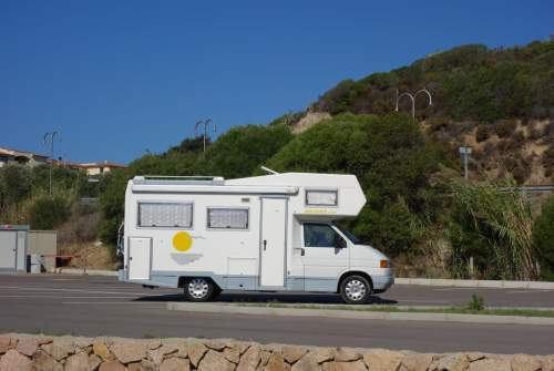Hire a motorhome in Dresden from private owners| VW T4 Wochner Mobil Wochi