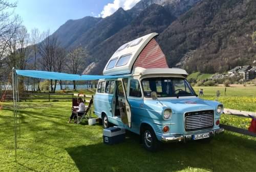 Hire a motorhome in Schopfheim from private owners| Ford Transit mk1 Wölkchen