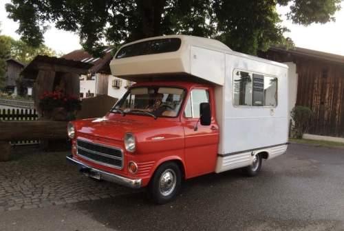 Hire a motorhome in Schopfheim from private owners| Ford Transit mk1 Rote Zora