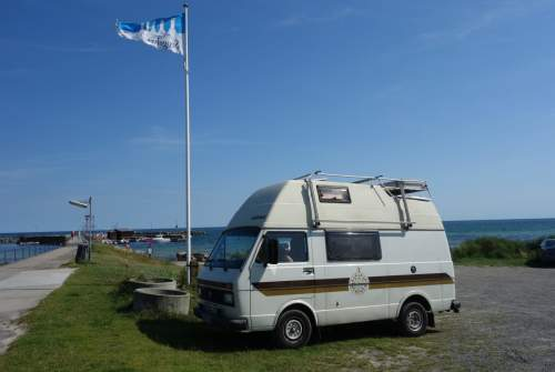 Hire a motorhome in Berlin from private owners| VW LT 31 Sven