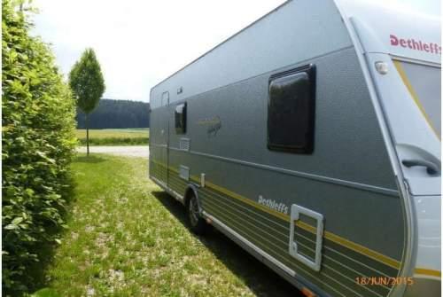 Hire a motorhome in Hartheim am Rhein from private owners| Dethleffs Wohni