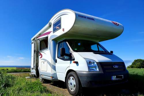 Hire a motorhome in Frankfurt am Main from private owners  Ford Transit  Uschi