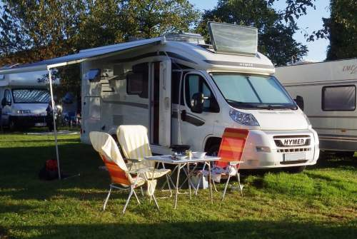 Hire a motorhome in Achau from private owners| Hymer  Schneckenhaus