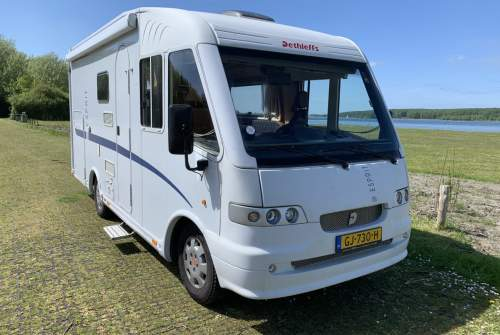 Hire a motorhome in Kloetinge from private owners| Fiat Integraal Dethleffs  Dethleffs 630