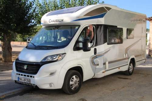 Hire a motorhome in Maintal from private owners  Chausson Sirius