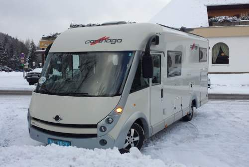 Hire a motorhome in Theresienfeld from private owners| Fiat Carthago