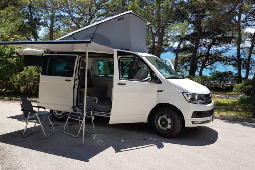 Hire a motorhome in Graz from private owners| Volkswagen California Kurti